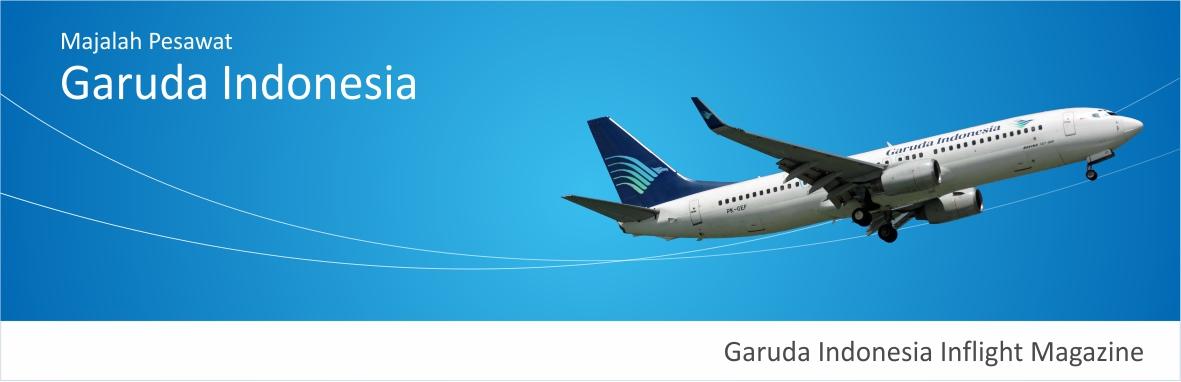 Majalah Pesawat COLOURS Garuda Indonesia